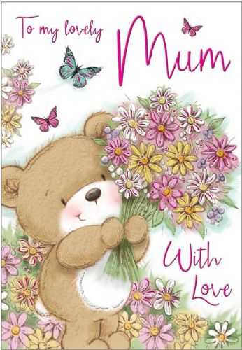 To My Lovely Mum With Love